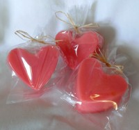 Grapefruit Heart Soap