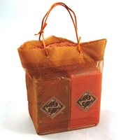 Copper Gift Bag (Sweet Orange & Grapefruit Soaps)