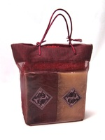 Burgandy Gift Bag (Rose & Honey, Milk & Oatmeal Soaps)