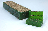 Hemp and Poppy Seed Soap