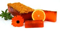 Sweet Orange and Calendula Soap